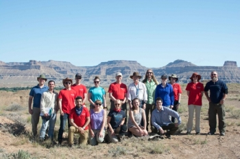 Rutgers Earth and Planetary Sciences (EPS) Book Cliffs, UT Field Trip, May...